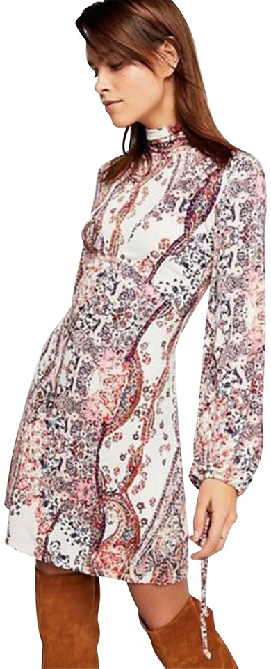 1deedf57440e7 Free People All Dolled Up Mini Short Casual Dress Size 8 (M) - Tradesy
