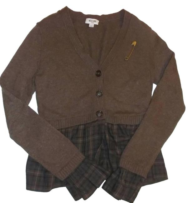 Item - Layered Italy Brown Sweater