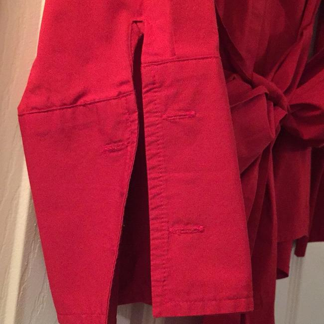 Ann Taylor Button Down Shirt red Image 1