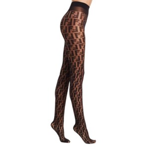 98b3c029982f Fendi logo printed Fendi Forever tights Small