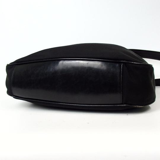 Gucci Bamboo Nylon Hobo Shoulder Bag Image 5