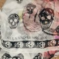 Alexander McQueen ALEXANDER MCQUEEN SKULL ON BUTTERFLY SILK SCARF Sold Out Image 8
