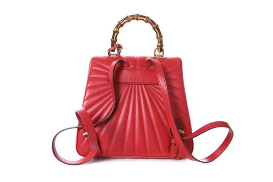Gucci Queen Margaret Bamboo Handle Backpack Image 1