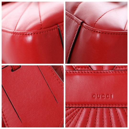 Gucci Queen Margaret Bamboo Handle Backpack Image 8