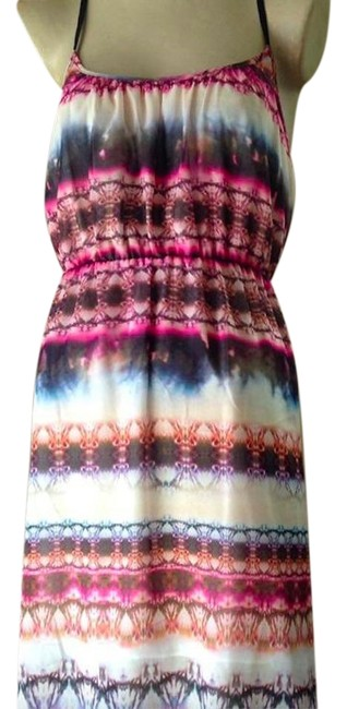 Preload https://img-static.tradesy.com/item/24728970/topshop-multicolor-tie-dye-strapy-mid-length-casual-maxi-dress-size-10-m-0-1-650-650.jpg