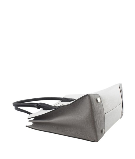 Michael Kors Leather Silver-tone Adult Tote in White Image 6