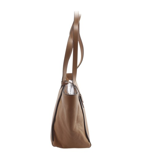 Michael Kors Leather Tags Dustbag Gold-tone Tote in Brown Image 2