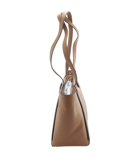 Michael Kors Leather Tags Dustbag Gold-tone Tote in Brown Image 3