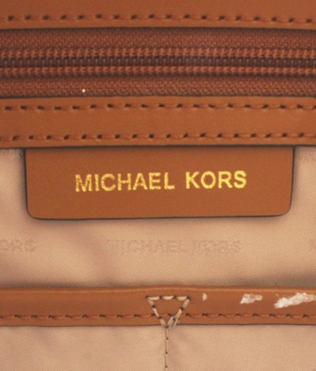 Michael Kors Leather Tags Dustbag Gold-tone Tote in Brown Image 9