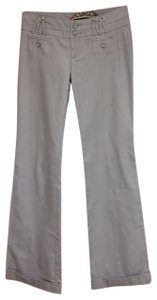 Daughter of The Liberation Wide Leg Pants Light Gray
