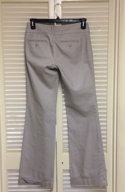 Daughter of The Liberation Wide Leg Pants Light Gray Image 1