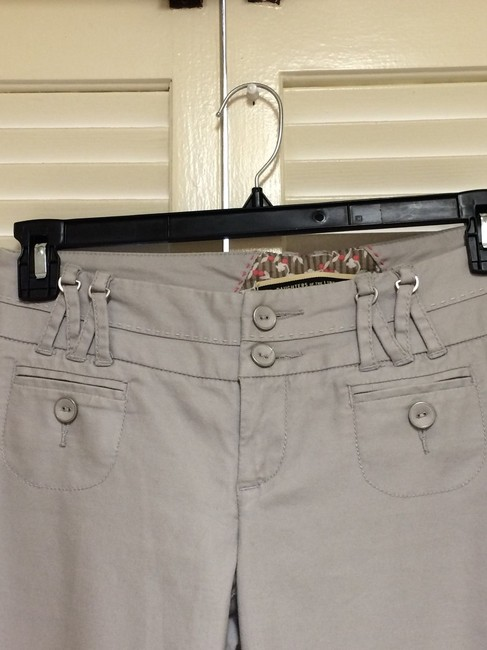 Daughter of The Liberation Wide Leg Pants Light Gray Image 3