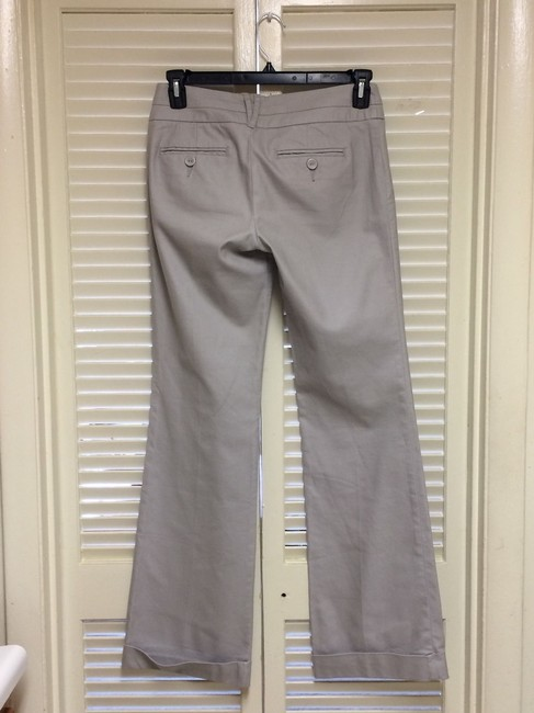 Daughter of The Liberation Wide Leg Pants Light Gray Image 5