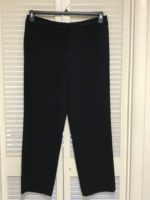 Donna Karan New York Trouser Pants Black Image 1