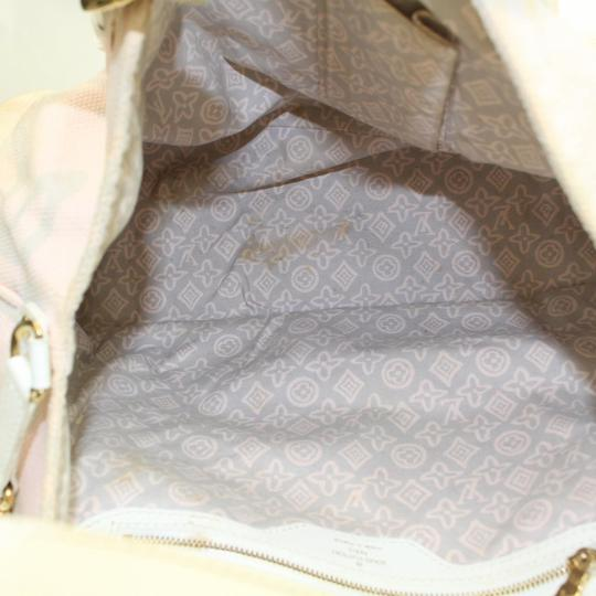 Louis Vuitton Fleur Sprouse Grafitti Limited Rare Tote in Pink Image 3