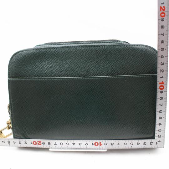 Louis Vuitton Orsay Cover Poche Pouch Pochette Green Clutch Image 4