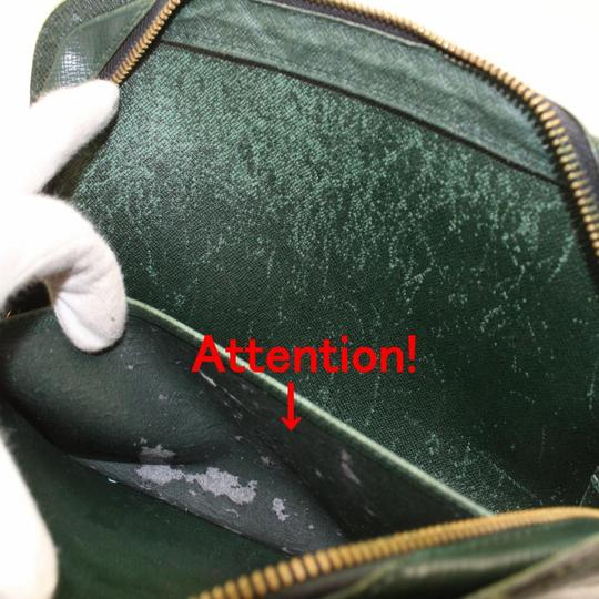 Louis Vuitton Orsay Cover Poche Pouch Pochette Green Clutch Image 8