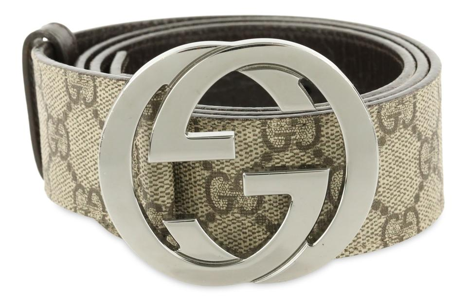 4bb95ead381 Gucci Brown Interlocking G Belt - Tradesy