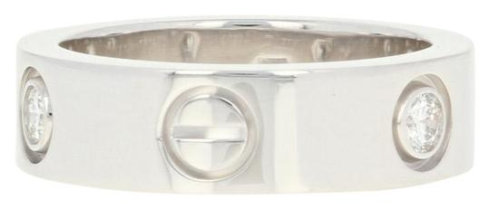 Preload https://img-static.tradesy.com/item/24729424/cartier-white-gold-love-18k-band-size-5-14-round-cut-u9012-ring-0-1-540-540.jpg