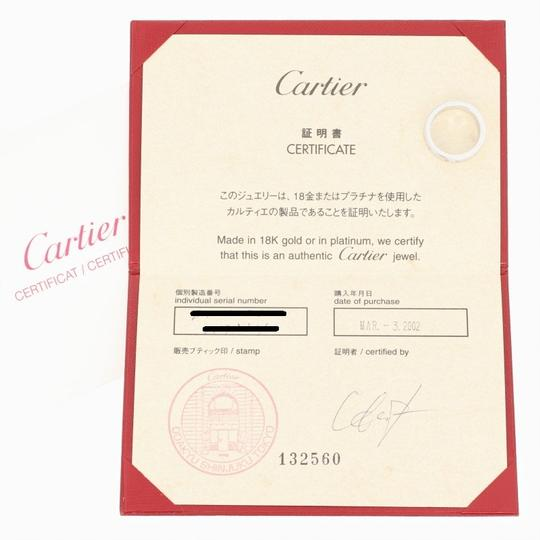 Cartier Cartier Love Ring - 18k White Gold Band Size 5 1/4 Round Cut U9012 Image 4
