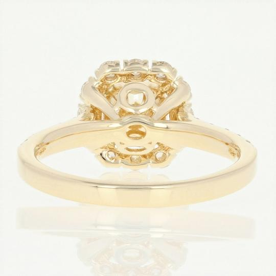 Other NEW Diamond Halo Engagement Ring - 14k Yellow Gold GIA Cushion U9014 Image 2