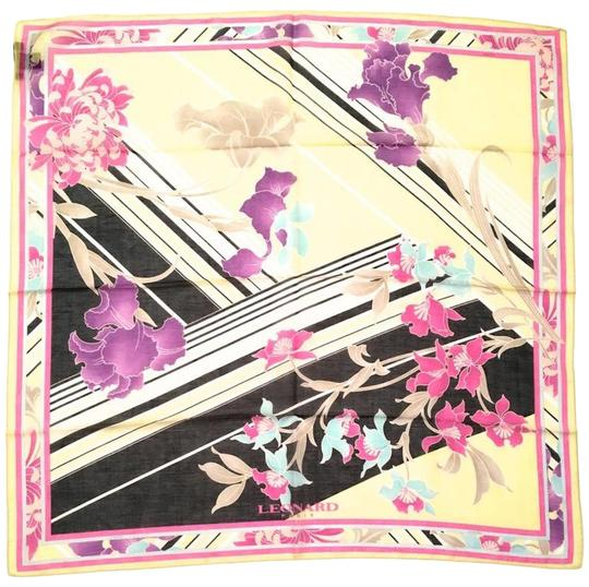 Preload https://img-static.tradesy.com/item/24729447/yellow-black-pink-new-magnificent-floral-scarfwrap-0-1-540-540.jpg