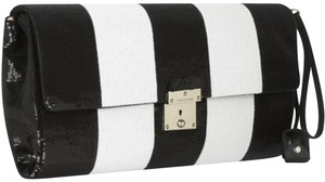 Marc Jacobs Italy Sequin BLACK & WHITE Clutch