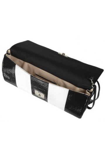 Marc Jacobs Italy Sequin BLACK & WHITE Clutch Image 1