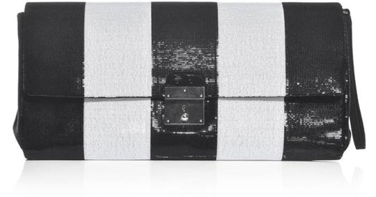 Marc Jacobs Italy Sequin BLACK & WHITE Clutch Image 2