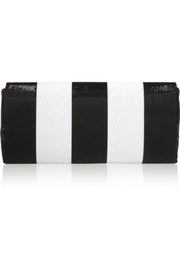 Marc Jacobs Italy Sequin BLACK & WHITE Clutch Image 3