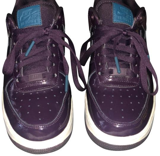 Preload https://img-static.tradesy.com/item/24729539/nike-deep-purple-with-teal-accents-air-force-1-sneakers-size-us-8-regular-m-b-0-1-540-540.jpg