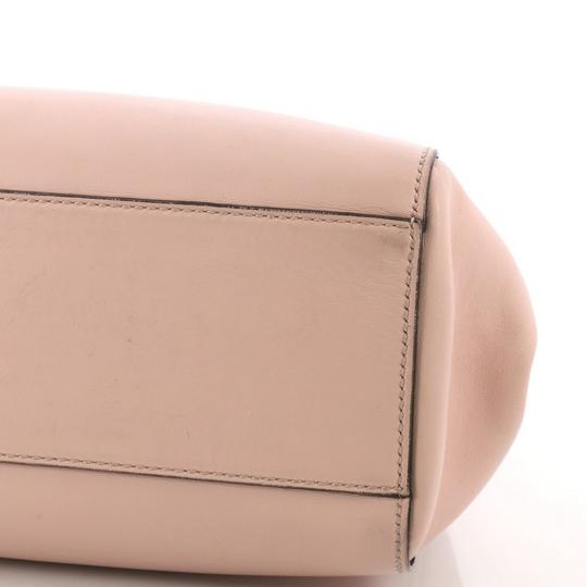 Gucci Satchel Leather Tote in pink Image 6