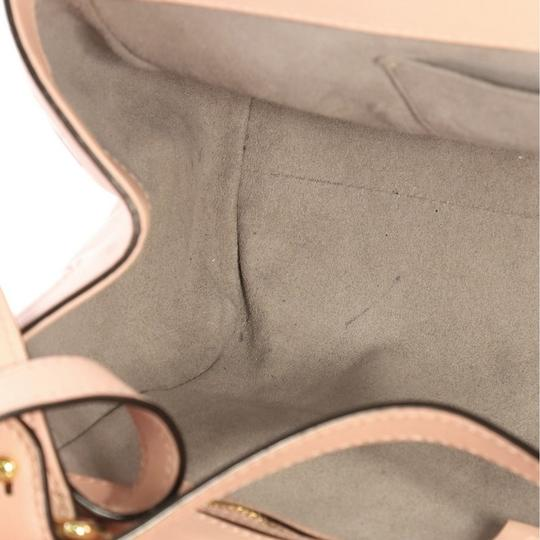 Gucci Satchel Leather Tote in pink Image 7