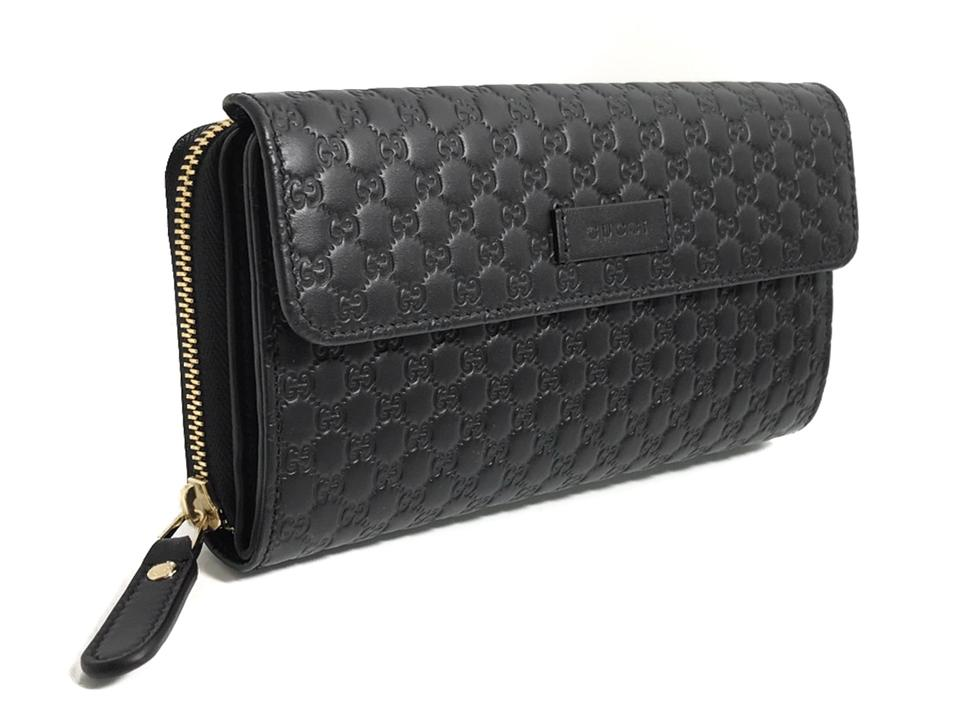 515003f8a11a Gucci Black Women's 449364 Leather Microguccissima Continental Wallet -  Tradesy
