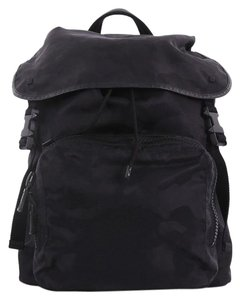 6f7bc8ae6a135 Added to Shopping Bag. Valentino Nylon Backpack. Valentino Top Flap Camo  Large Black Nylon Backpack