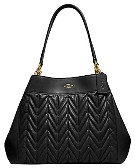 Preload https://img-static.tradesy.com/item/24729805/coach-lexy-with-quilting-f32978-black-leather-shoulder-bag-0-1-540-540.jpg