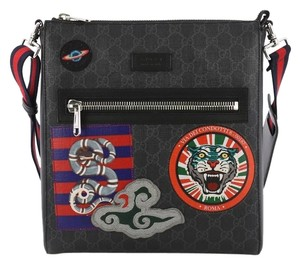 6cb6c965250 Black Gucci Messenger Bags - Up to 90% off at Tradesy