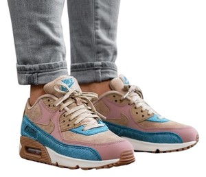 wholesale dealer 60c99 c9e84 Nike Air Force 1 Monsoon Blue White Pink Sneakers Low Sneakers Size ...