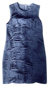 Robert Rodriguez Chiffon Silk Shift Shift Dress