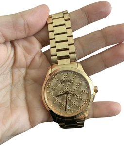 20e69cfb238 Gucci Rose Gold Timeless Men Watch - Tradesy