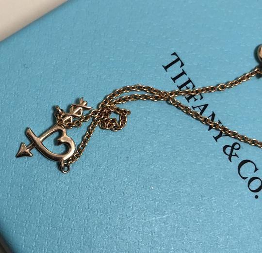Tiffany & Co. Tiffany & co gold heart cupid bracelet Image 4