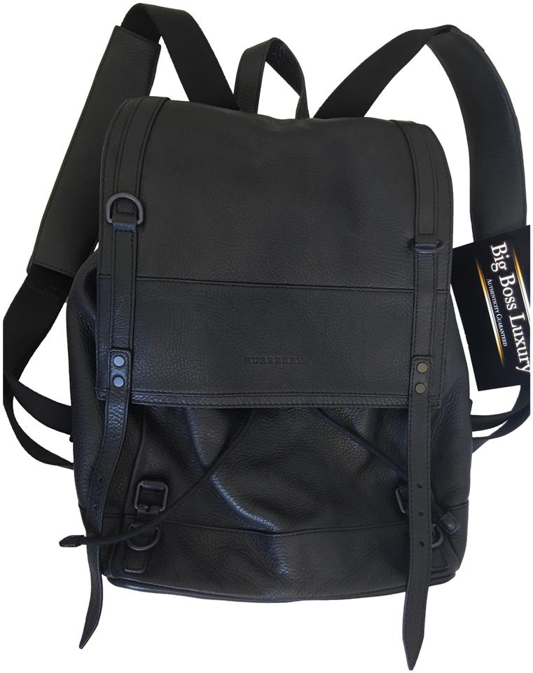 32af540c90a4 Burberry Black Leather Backpack - Tradesy