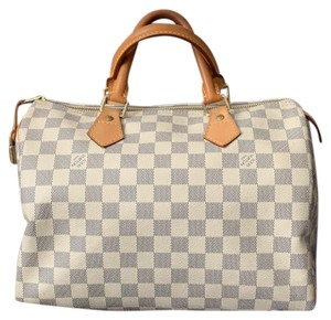 26d420d2113a Blue Louis Vuitton Satchels - Up to 90% off at Tradesy