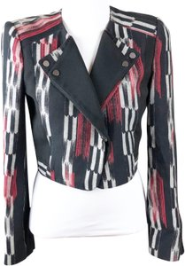 BCBGMAXAZRIA Black, Red Blazer