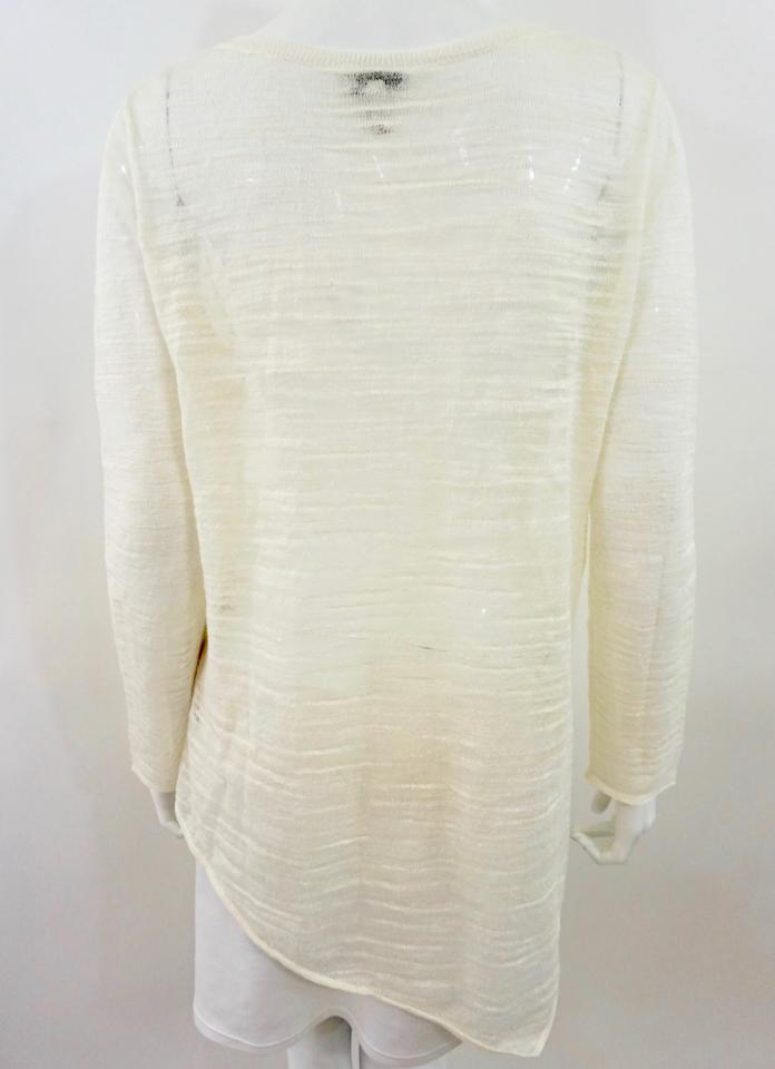 Joie White Creme Cream Sweater - Tradesy 746f03a2b