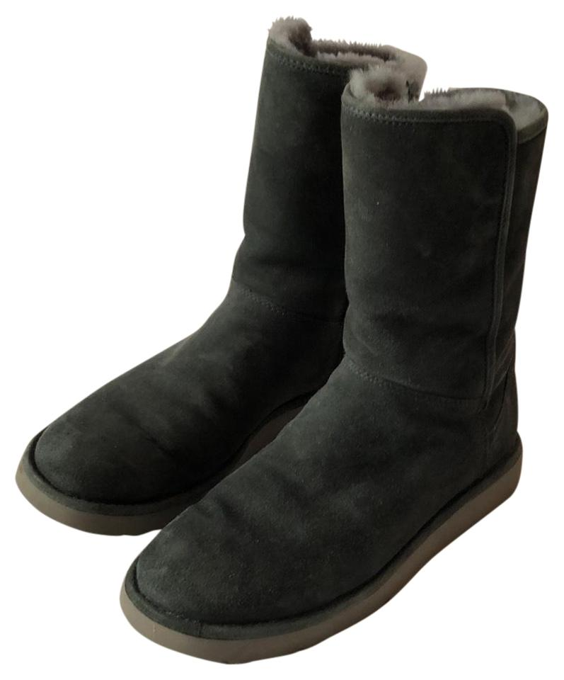 c6a82c35117 UGG Australia Gray Abree Short Ii - Slim Update Boots/Booties Size US 7  Regular (M, B) 69% off retail