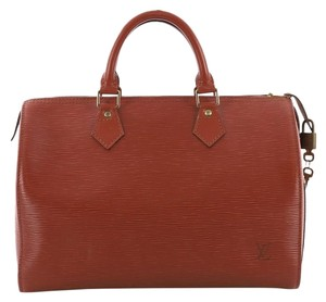 eb81f7897ee99 Added to Shopping Bag. Louis Vuitton Leather Satchel in Speedy. Louis  Vuitton Speedy Handbag Epi 30 ...