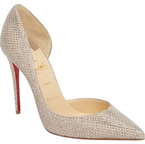 7e771eaae6fd Women s Gold Christian Louboutin Shoes - Up to 90% off at Tradesy