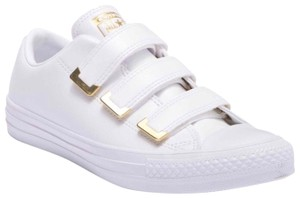 Converse White, Gold Athletic