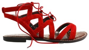 Sam Edelman Red Sandals